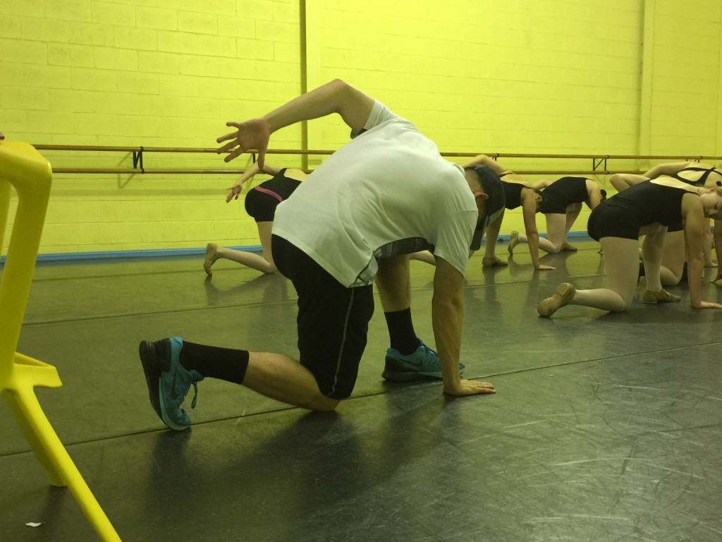 Charles during Open Jazz Choreography!